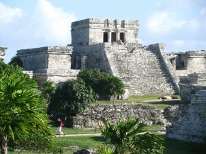 A golf trip to Tulum should also include a visit to the Castillo at Tulum, a hidden gem along the Riviera Maya