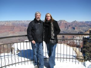 A cold day on the South Rim, but spectacular views