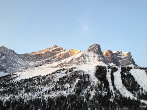Mountain near Canmore, Alberta