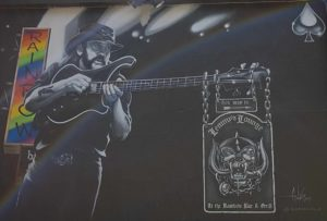 Entrance to Lemmy's Lounge at the Rainbow