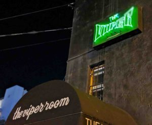 The famous Viper Room, Los Angeles