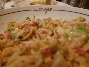 The food at Musso & Frank's is plentiful and delicious