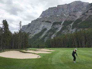 The Banff Springs Golf Course is a feast for the eyes